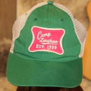 Old worn out Camp Longhorn Cap